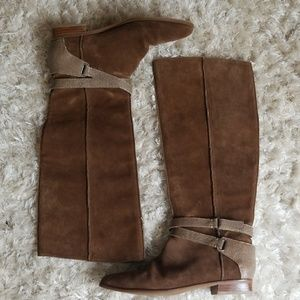 7 for all mankind suede boots.